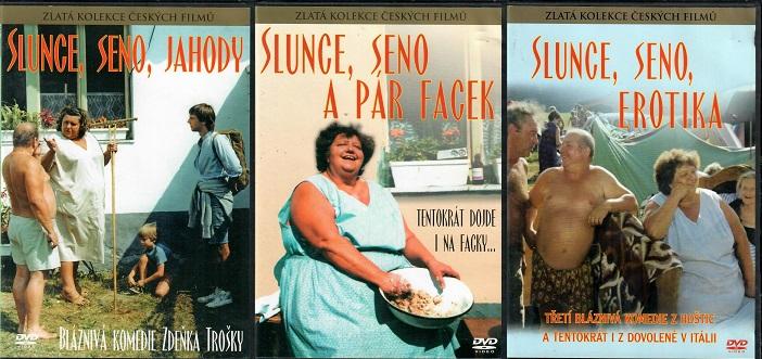 Kolekce Slunce, seno... 3 DVD ( slim )