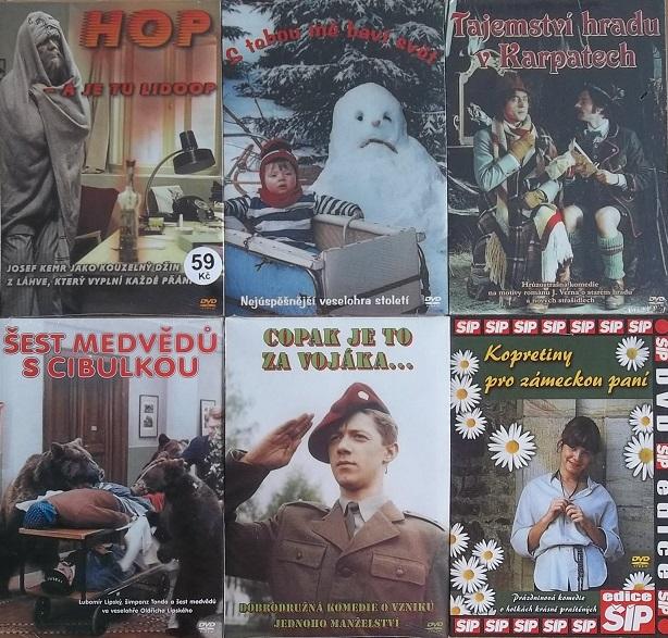 Kolekce odpočinkových českých filmů - DVD