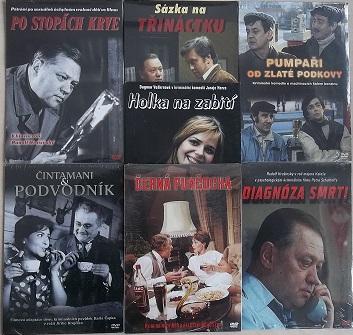 Kolekce českých kriminálek - DVD