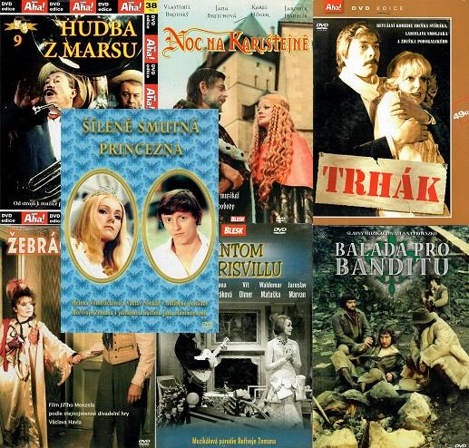 Kolekce českých hudebních filmů 7 DVD