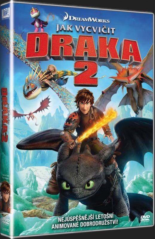 Jak vycvičit draka 2 - DVD bazarové zoží