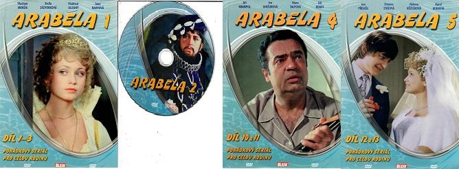 Kolekce Arabela 4DVD ( nekompletní )