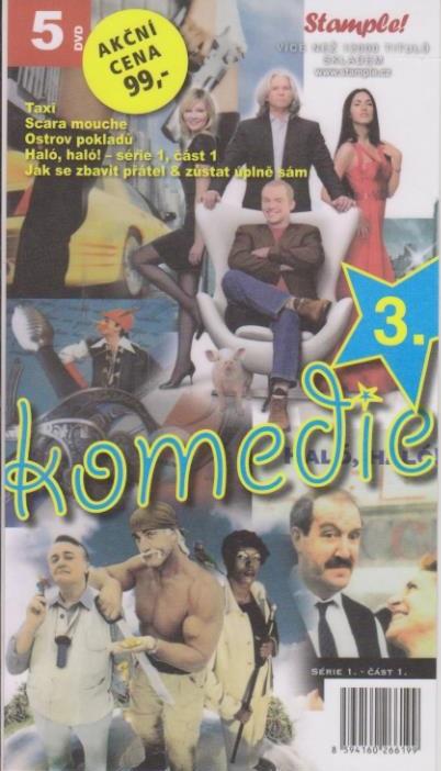 Kolekce komedie 3 - DVD