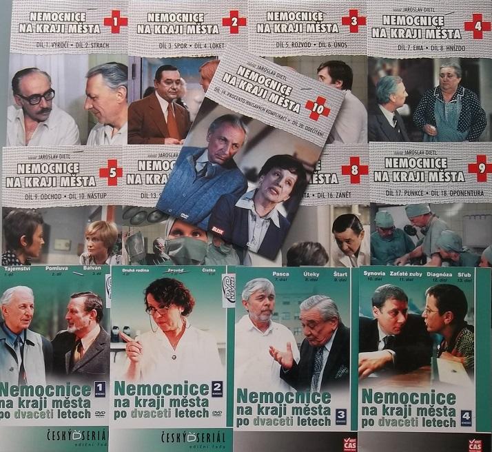 Kolekce Nemocnice na kraji města (NEKOMPLETNÍ, chybí disk 6) - DVD