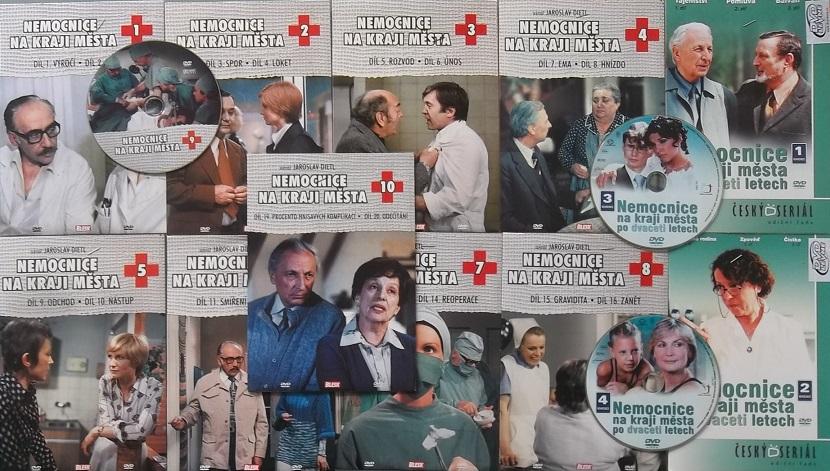 Kolekce Nemocnice na kraji města (KOMPLETNÍ ) - DVD