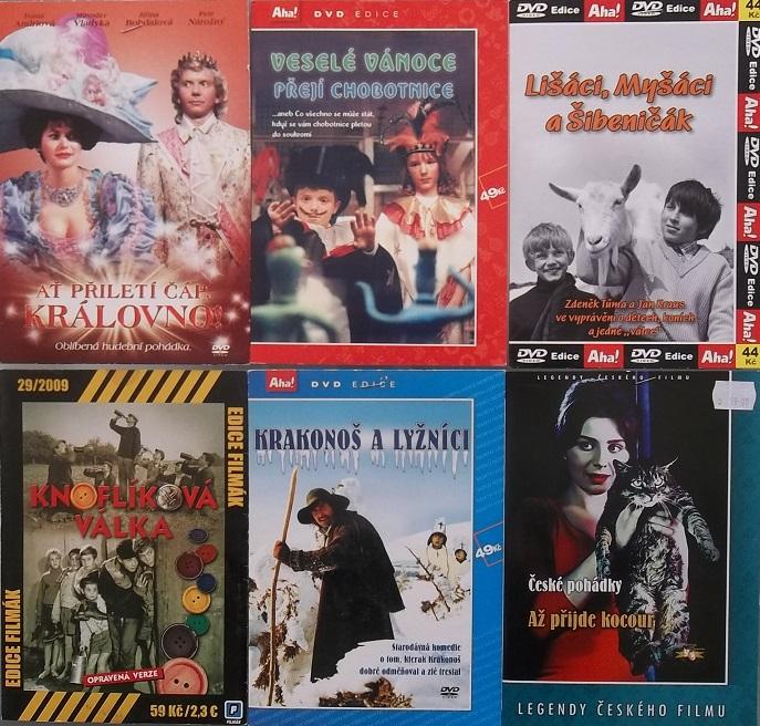 Kolekce pro děti 6 DVD
