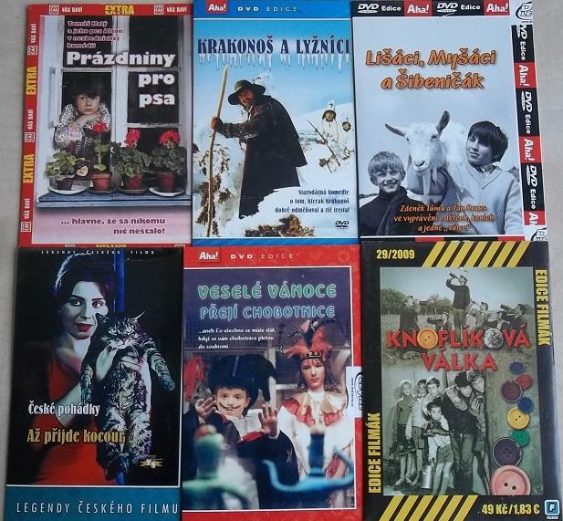 Kolekce pro děti - DVD