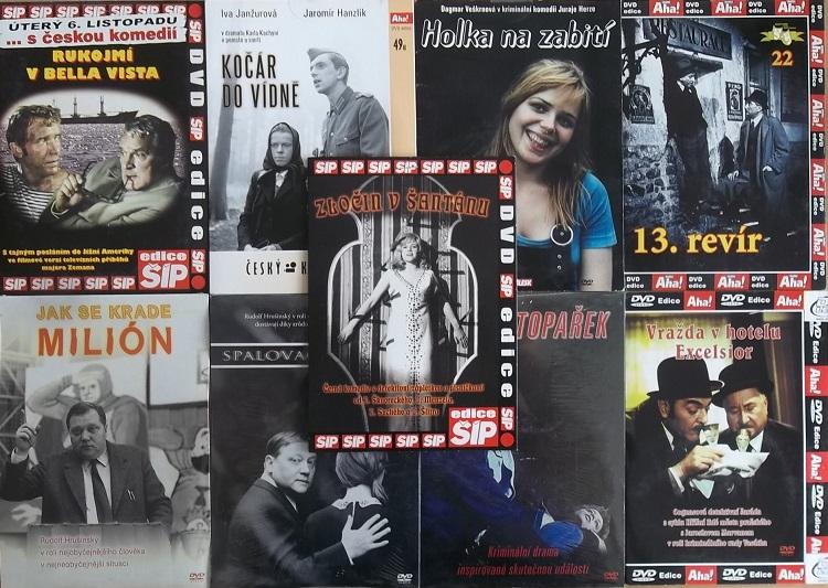 Kolekce krimi filmy - 9DVD