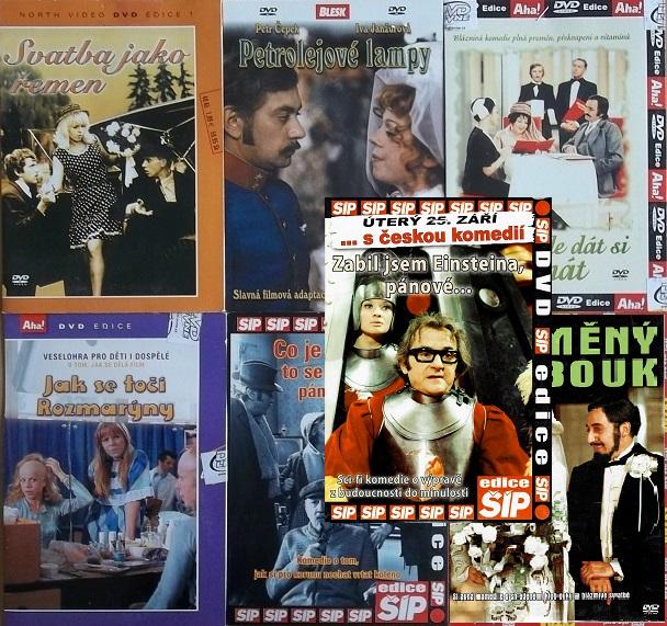 Kolekce  Iva Janžurová 7 DVD