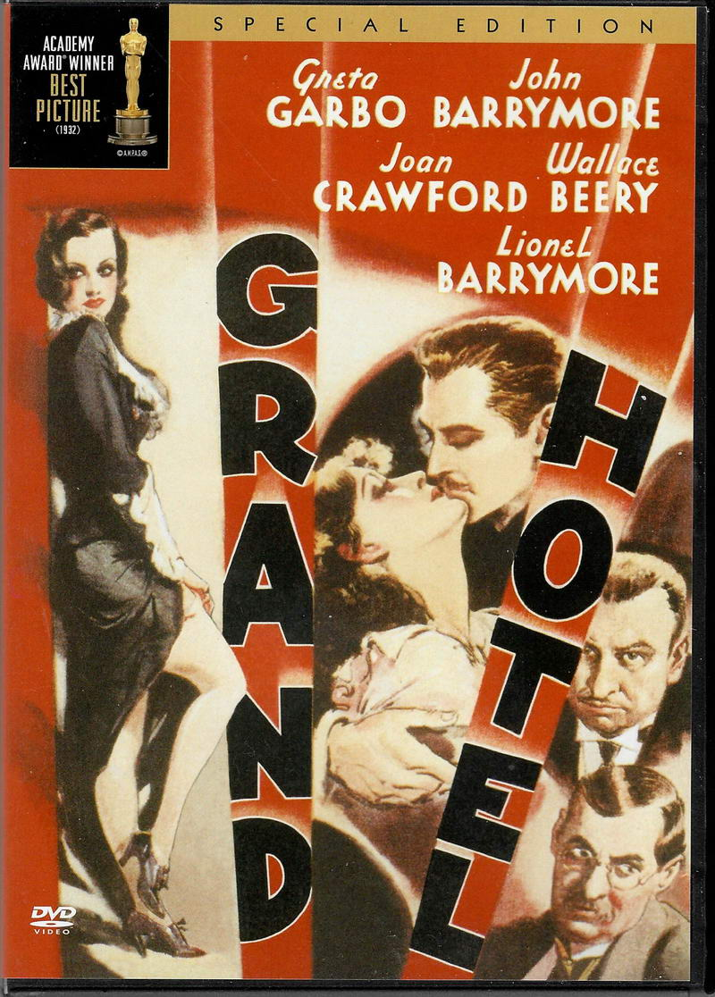 Grand Hotel (Greta Garbo, John Barrymore) - DVD plast
