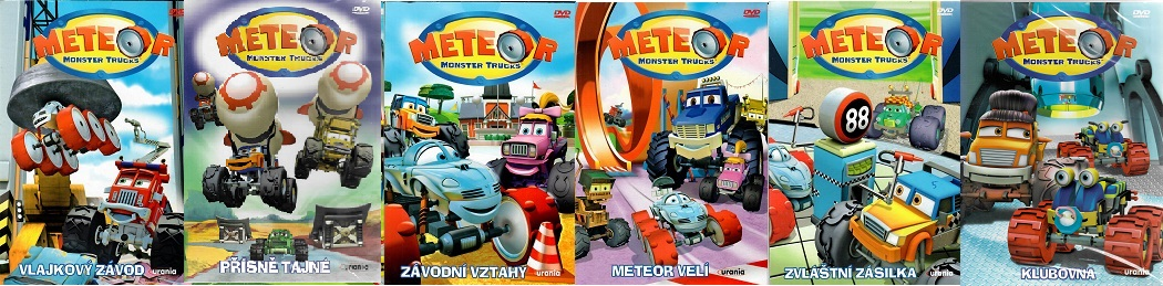 Kolekce Meteor Monster Trucks 6 DVD plast