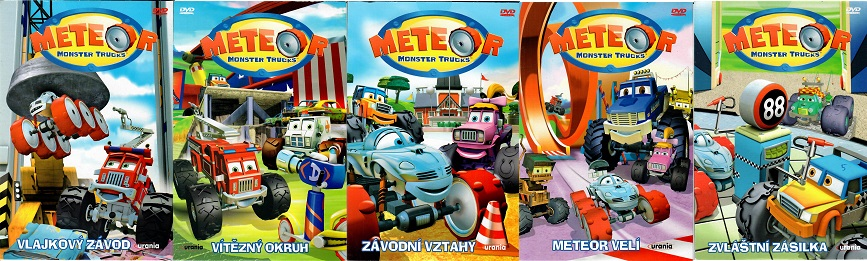 Kolekce Meteor Monster Trucks 5 DVD