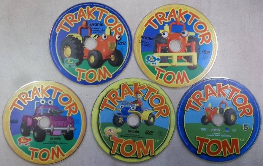 Kolekce Traktor Tom 5 DVD ( samostatné disky )