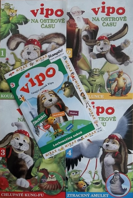 Kolekce Vipo - 5 DVD