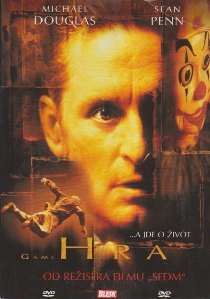 Hra (Michael Douglas) - DVD