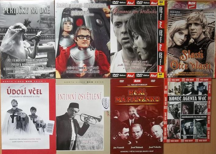 Kolekce filmů natočených 1965 - 1969 - DVD