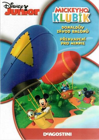 Mickeyho klubík  - Donaldův závod balónů/ překvapení pro Minnie - DVD
