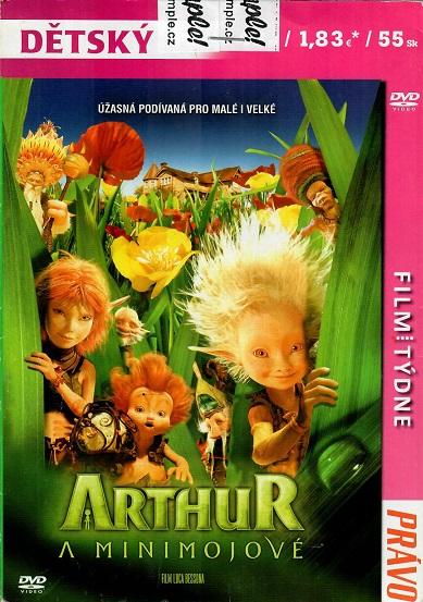 Arthur a Minimojové ( pošetka ) - DVD