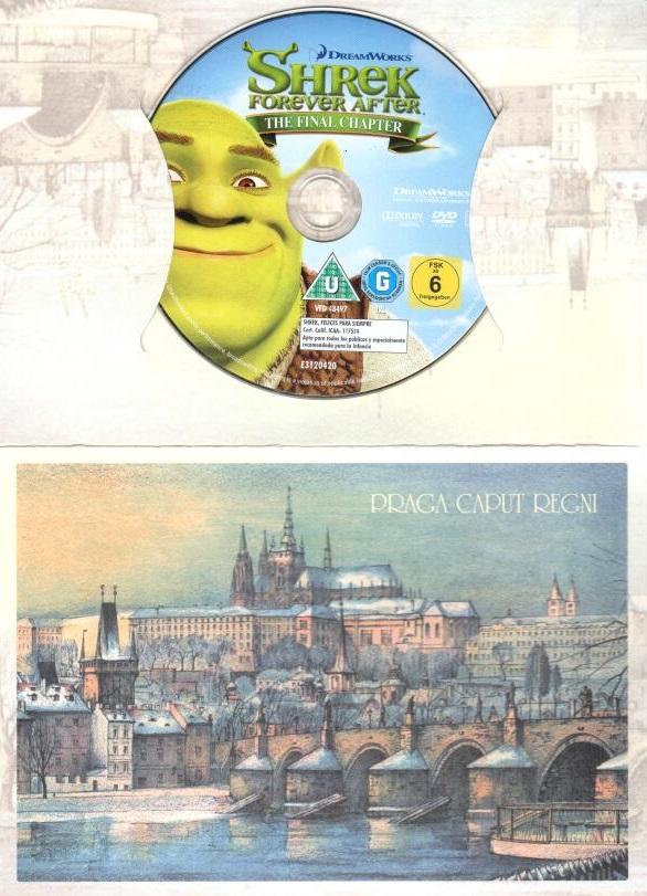 Shrek: Zvonec a konec - Poslední kapitola - DVD ( dárková obálka )