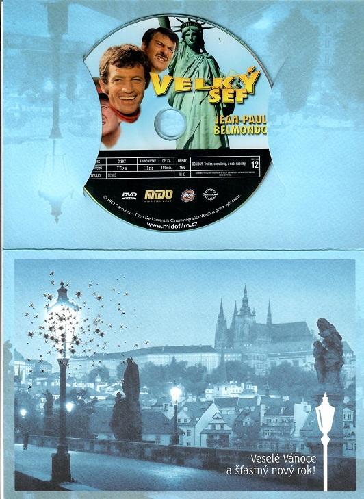 Velký šéf (Jean-Paul Belmondo) - dárkový papír obal - DVD