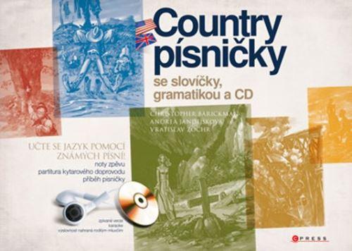 Country písničky se slovíčky, gramatikou a CD učte se jazyk pomocí známých písní