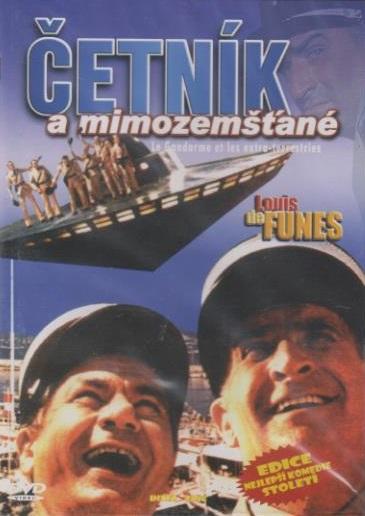 Četník a mimozemšťané ( plast/slim ) DVD