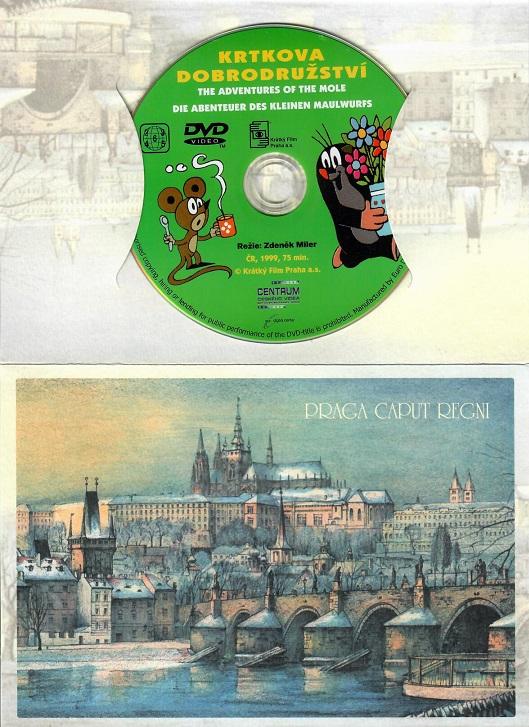60 večerníčků - 10 - Krtkova dobrodružství 1 ( dárkový obal ) - DVD