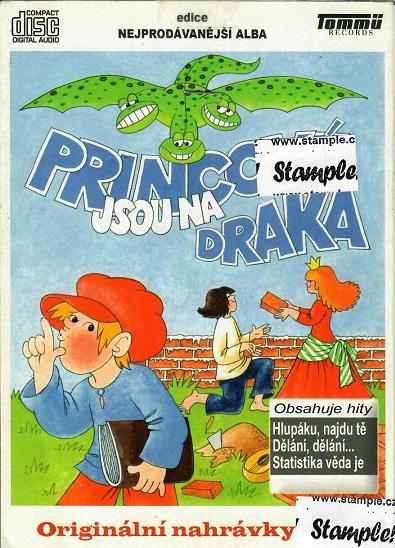 Princové jsou na draka - Bazarové zboží CD