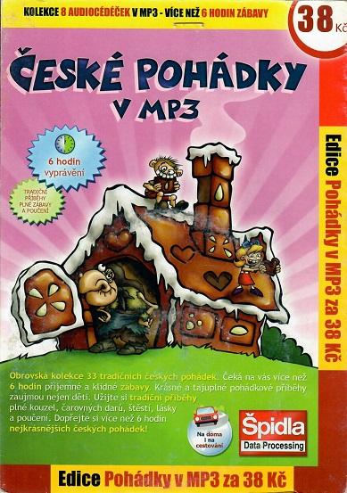 České pohádky v MP3 - CD