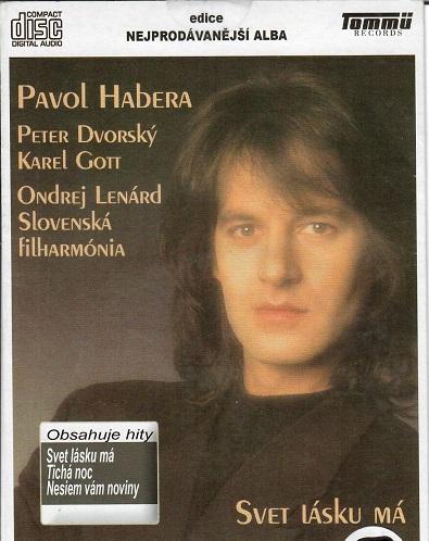 Pavol Habera - Svet lásku má ( pošetka ) - CD