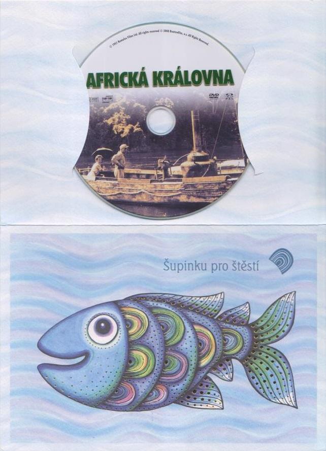 Africká Královna ( Dárkový obal) - DVD