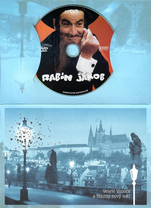 Rabín Jákob ( dárkový papír obal ) - DVD