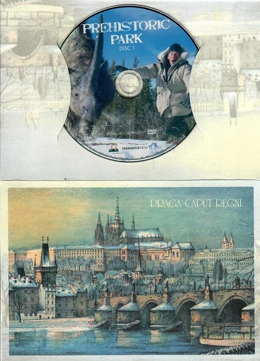 Prehistoric Park 1 ( dárkový papír obal Praha ) - DVD
