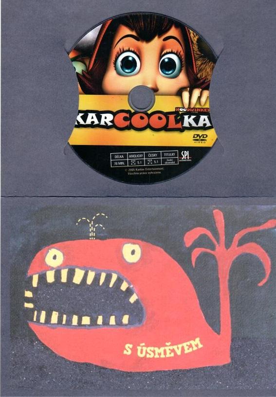 Karcoolka - DVD - dárková obálka