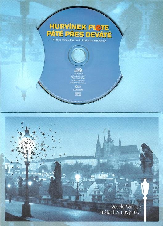 Hurvínek plete páté přes deváté ( dárkový papír obal ) - CD