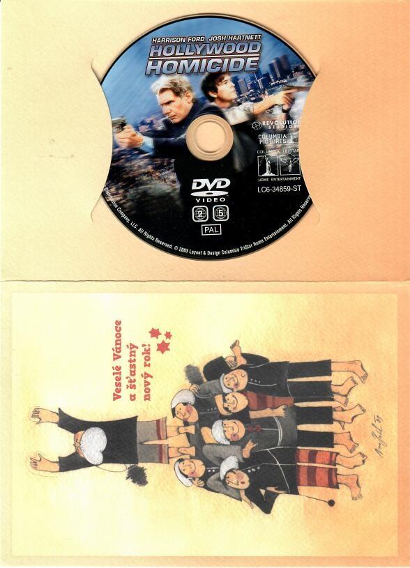 Detektivové z Hollywoodu - DVD ( dárková obálka )