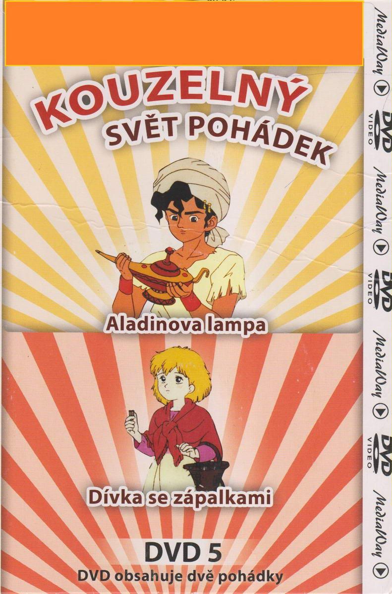Kouzelný svět pohádek 5 -Aladinova lampa / Dívka se zápalkami - DVD