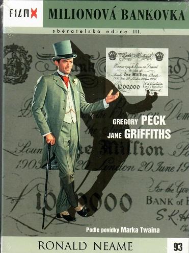 Milionová bankovka - digipack DVD