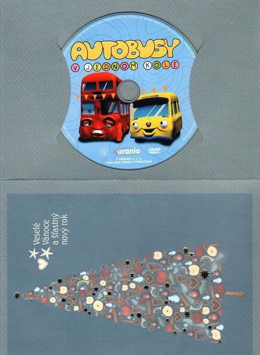 Autobusy v jednom kole 1 ( dárkový obal ) - DVD