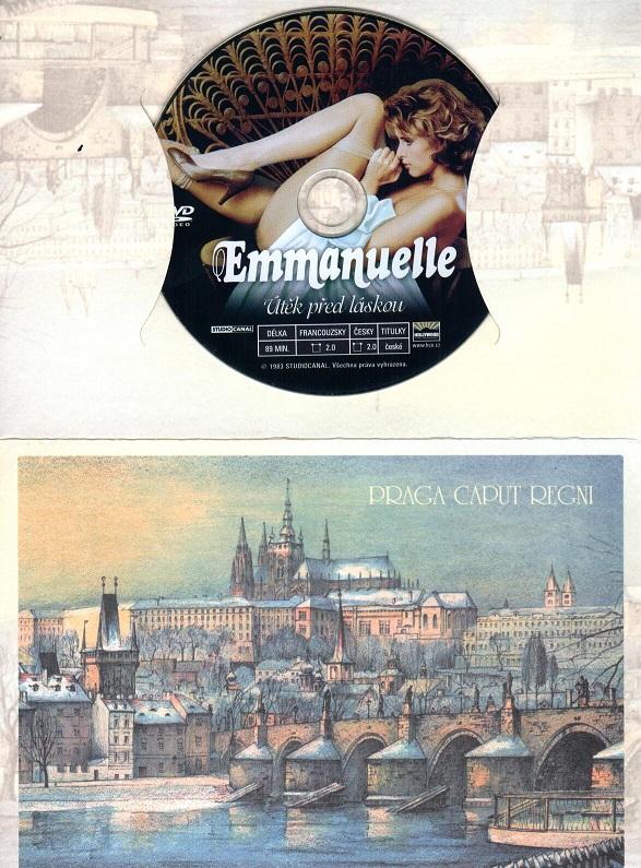 Emmanuelle - Útěk před láskou ( dárkový obal ) - DVD