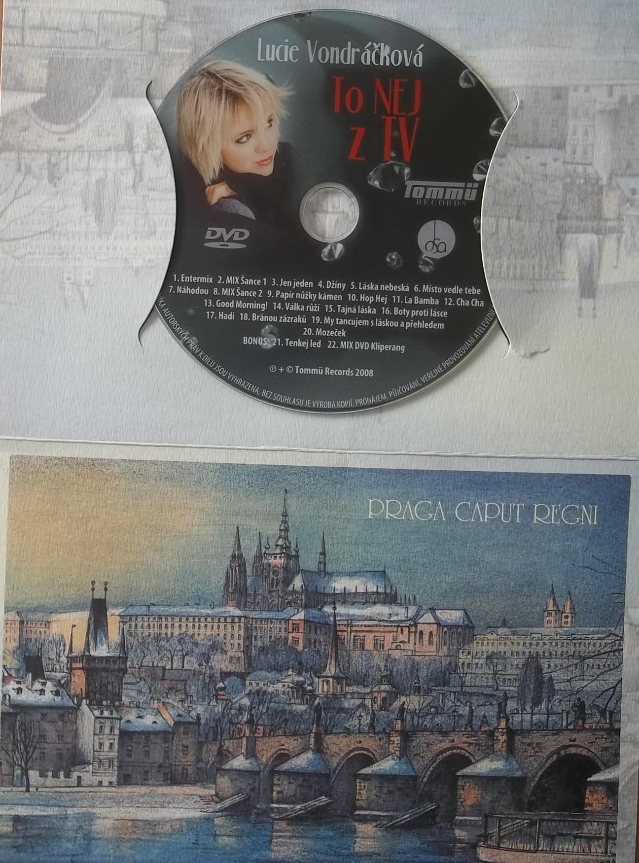 Lucie Vondráčková (dárková obálka) - to nej z TV - DVD