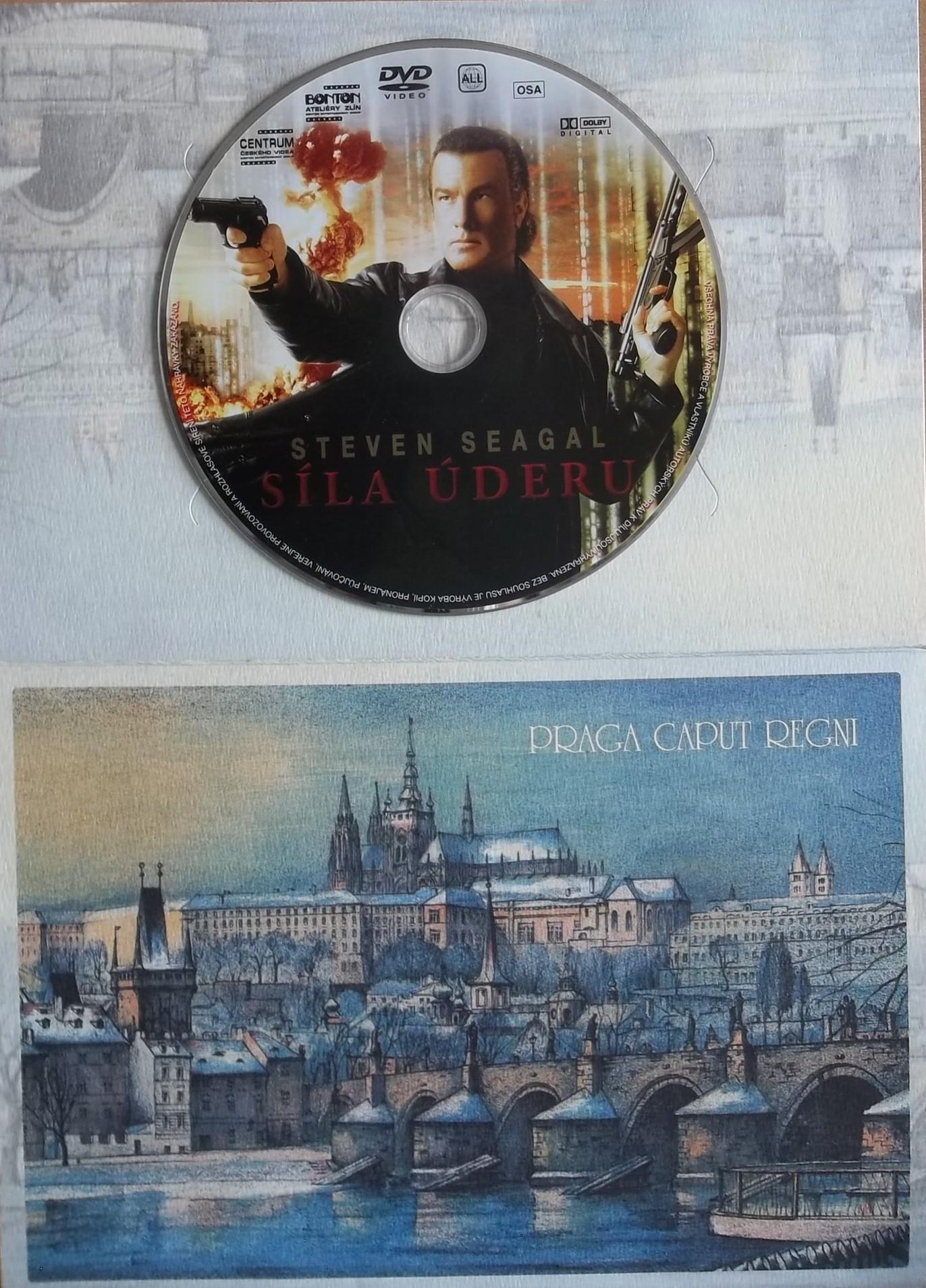 Síla úderu (dárková obálka) DVD