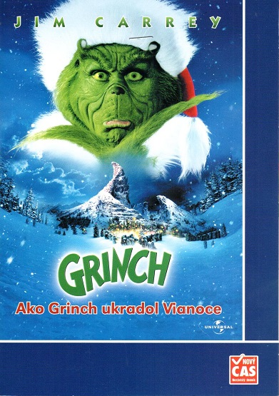 Grinch - DVD pošetka