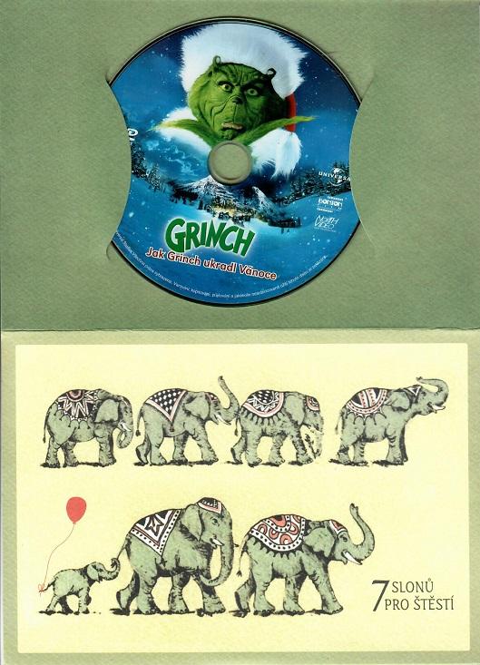 Grinch - Jak Grinch ukradl Vánoce ( dárková papír obálka )