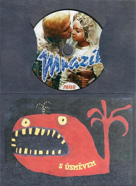 Mrazík ( dárkový papírový obal ) - DVD