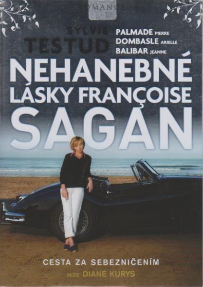 Nehanebné lásky Françoise Sagan - DVD plast