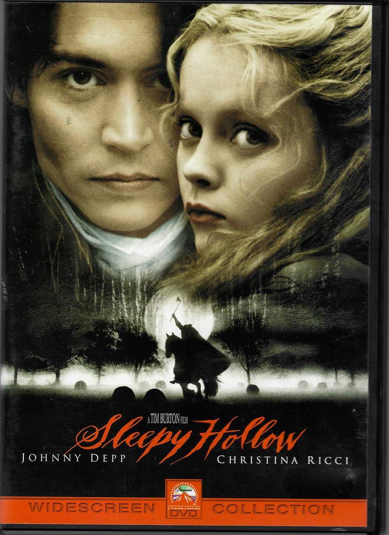 Sleepy Hollow / Ospalá díra  ( originální znění, titulky CZ ) plast DVD