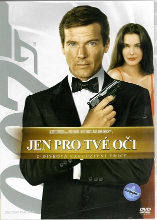 James Bond 09 -Jen pro tvé oči  2-disková exkluzivní edice ( plast ) DVD