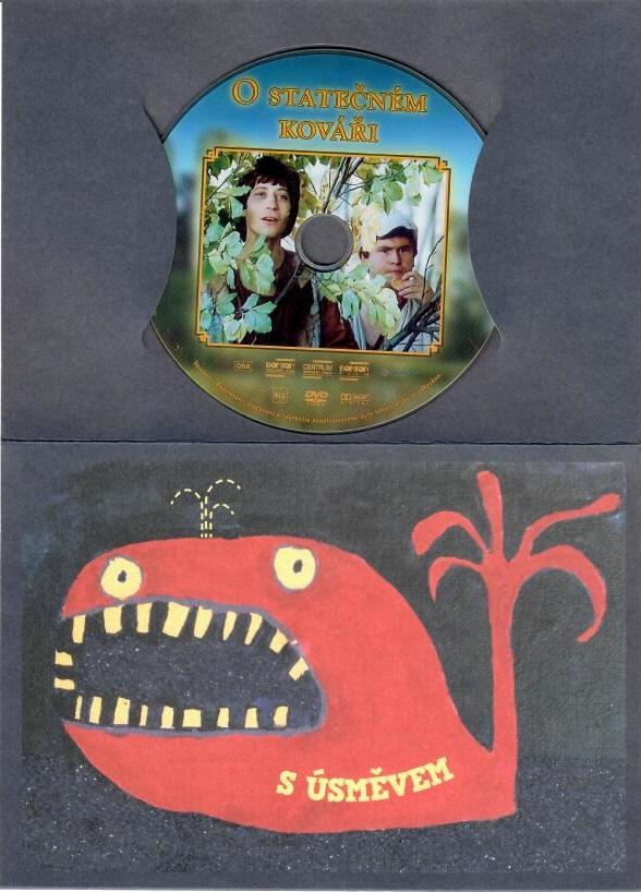 O statečném kováři - DVD ( dárková obálka )