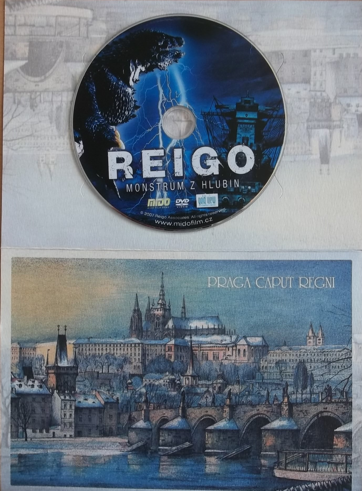 Reigo - Monstrum z hlubin - DVD